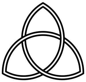 "The triquetra, also known as the ""trinity knot"", has ancient Celtic origins and predates Christianity."